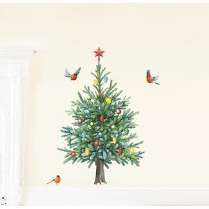 Samolepka na viac použití Christmas Tree S