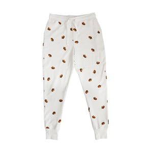 Biele chlapčenské nohavice Snurk Winternuts, 104