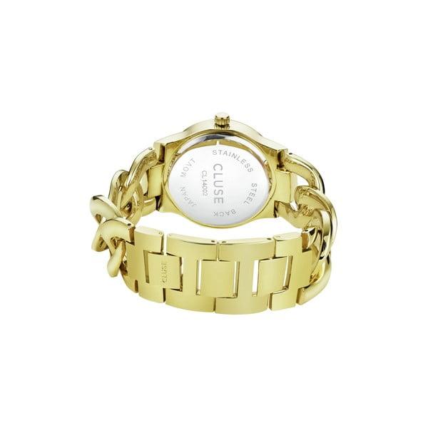 Dámské hodinky Elegante Stones Gold/Blue Lagoon, 38 mm