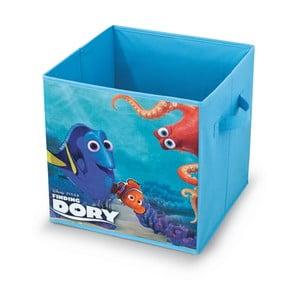 Úložný box na hračky Domopak Finding Dory, 32x32cm