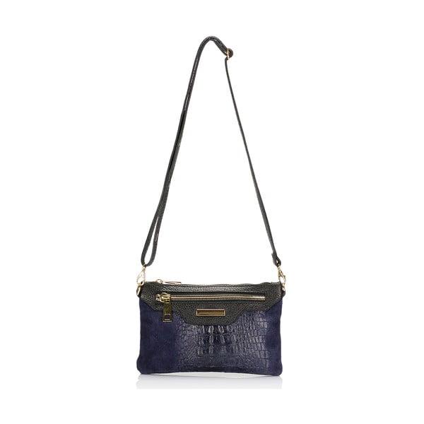 Kožená kabelka Markese 144 Blue