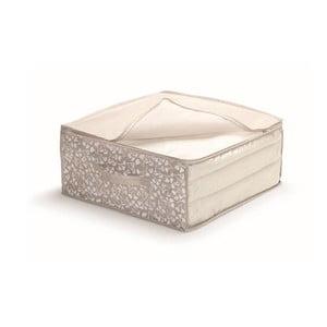 Hnedý uložný box na prikrývky Cosatto Bocquet, šírka 45 cm