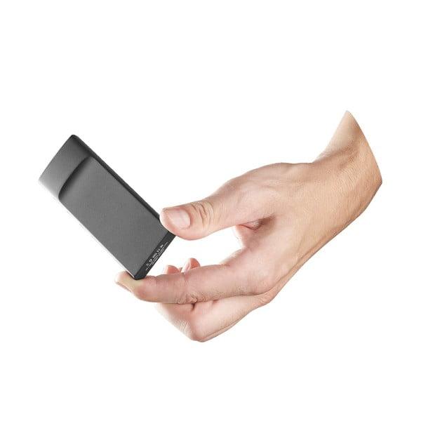 Ultratenká powerbanka CellularLine FREEPOWER Slim, 3600mAh, čierna