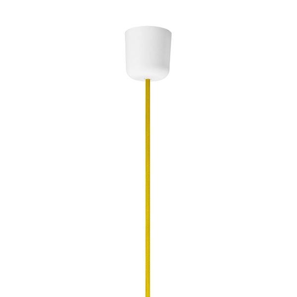 Žlté lesklé závesné svietidlo Sotto Luce MYOO