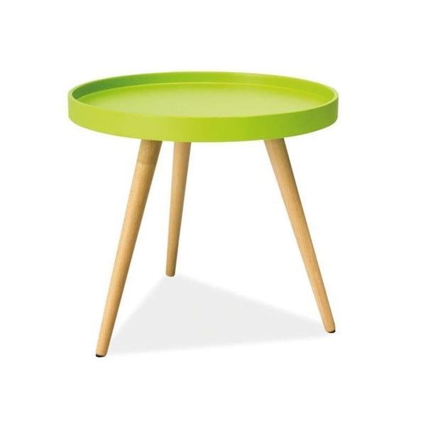Konferenčný stolík Toni 50 cm, zelený