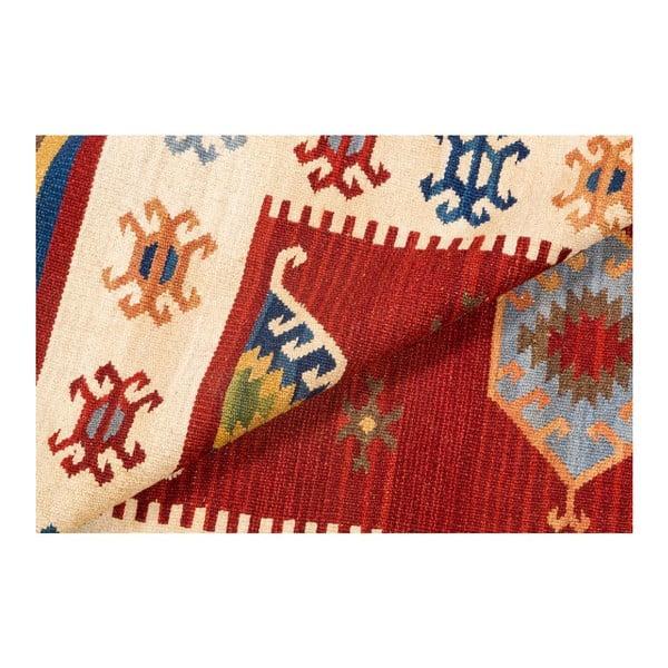 Ručne tkaný koberec Kilim Dalush 209, 150x90 cm