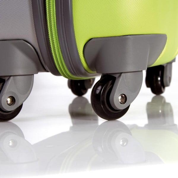 Sada 2 béžových cestovných kufrov Tempo