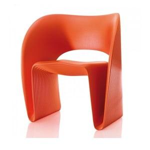Oranžové kreslo Magis Raviolo