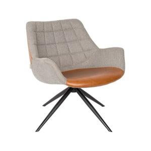 Sivá stolička Zuiver Doulton