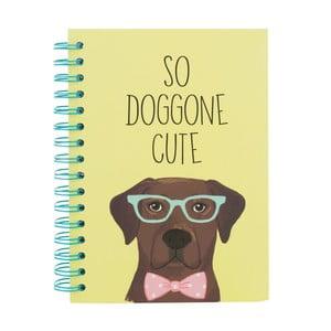 Zápisník Tri Coastal Design Purrfect Dog