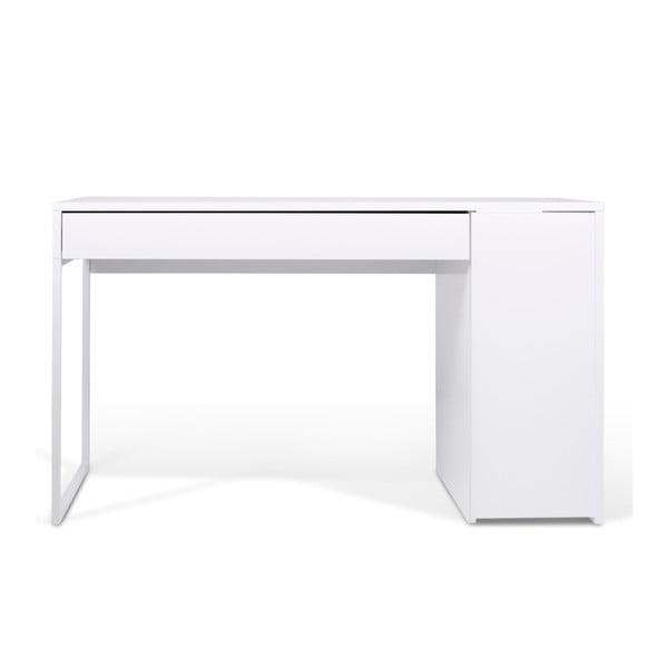 Pracovný stôl Prado, biele nohy