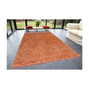 Oranžový koberec Webtappeti Shaggy, 60 x 100 cm