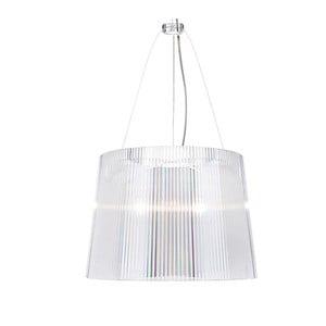 Transparentné stropné svietidlo Kartell Gé, ⌀37 cm