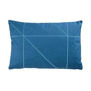 Vankúš Zone Turquoise No. 1, 60x40 cm