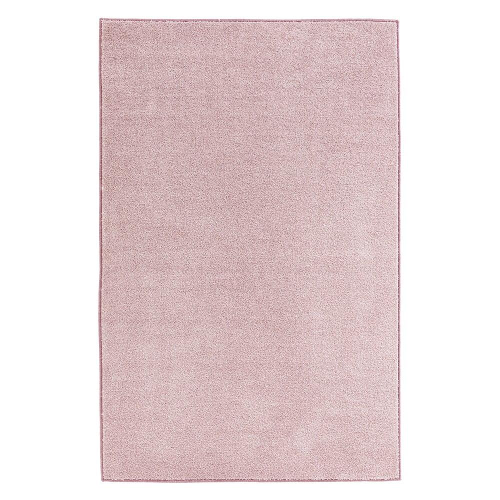 Ružový koberec Hanse Home Pure, 140 × 200 cm