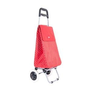 Červená taška na kolieskach Sabich Jeanie
