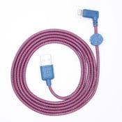 Nabíjací kábel Lightning pre iPhone 5 a iPhone 6 Wooky Urban, 1,5 m