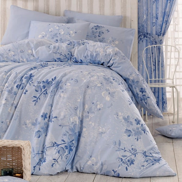 Obliečky Elena Blue, 140x220 cm