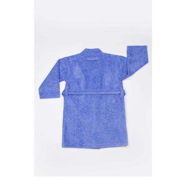 Detský župan U.S. Polo Assn. Blue, veľ. 3/4 roky