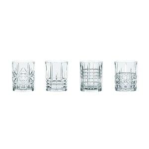 Sada 4 pohárov na whisky z krištáľového skla Nachtmann Highland, 345 ml