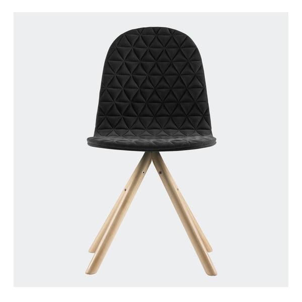 Stolička Mannequin, čierna