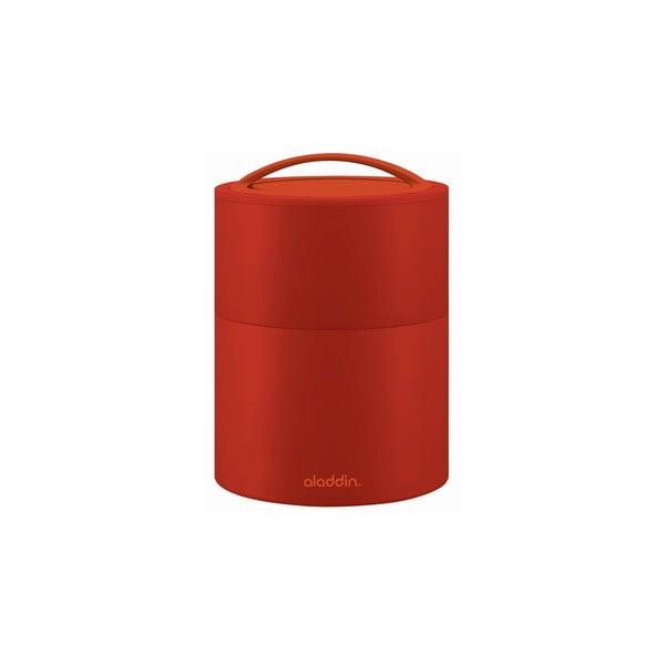 Termobox na obed/desiatu Bento 950 ml, červený
