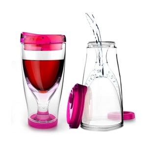 Termoska Ice Vino 2GO, ružová