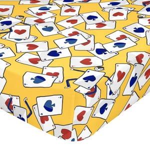 Elastická bavlnená plachta Mr. Fox Tea Time, 90 × 200 cm