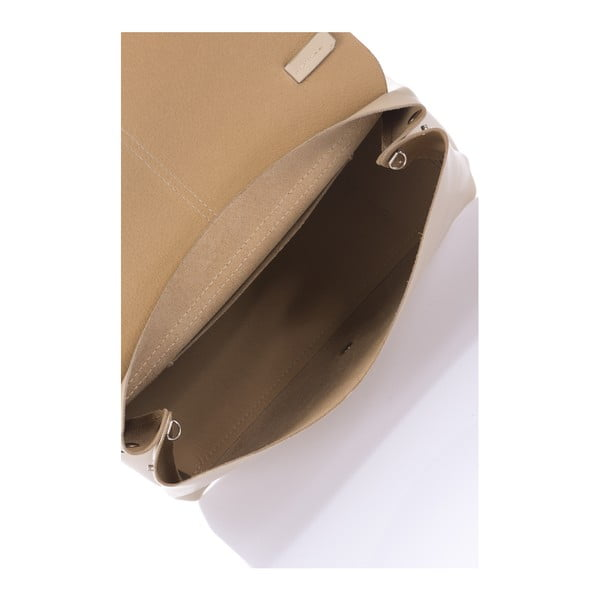 Kožená kabelka Mijoria, taupe