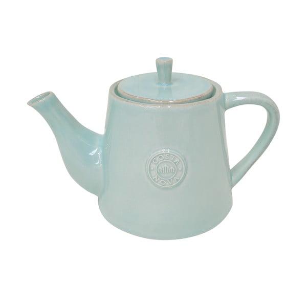 Tyrkysová keramická kanvica na čaj Ego Dekor Nova, 1,07 l
