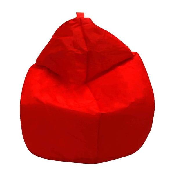 Červený sedací vak 13Casa Droplet