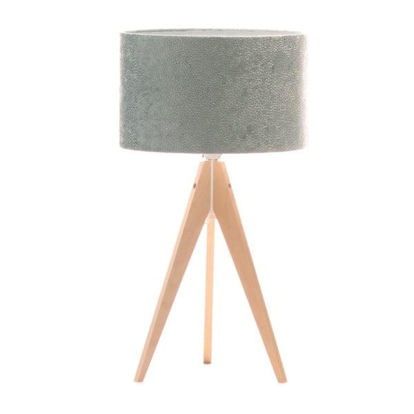 Stolná lampa Artist Celestia Blue/Birch, 40x33 cm