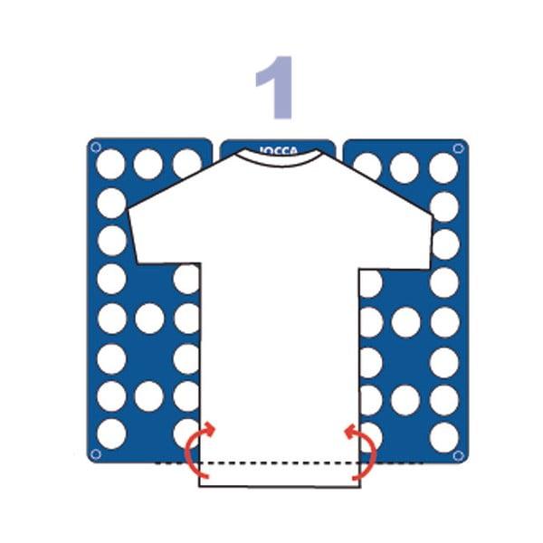 Forma na skladanie tričiek
