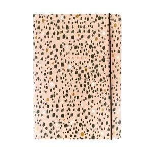 Zápisník B5 Portico Designs Sketch Marks, 160stránok