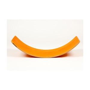 Oranžová buková hojdacia doska Utukutu Woudie, dĺžka117 cm