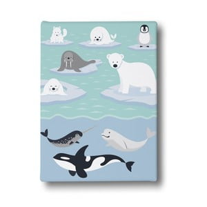 Obraz Mr. Little Fox Polar World