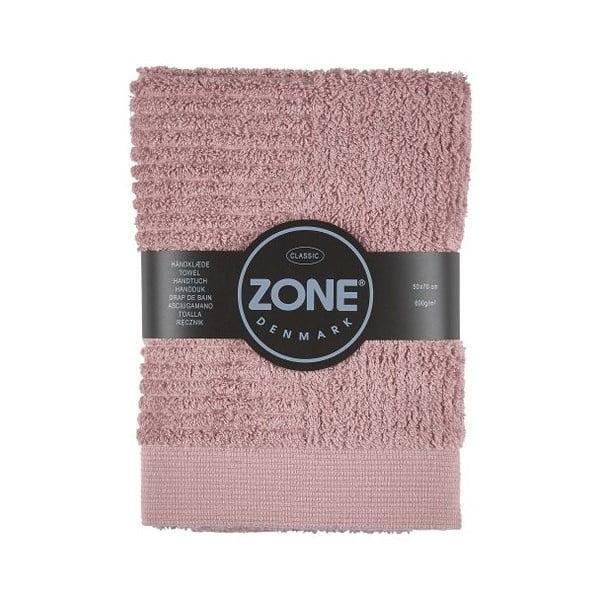 Ružový uterák Zone, 70x50cm