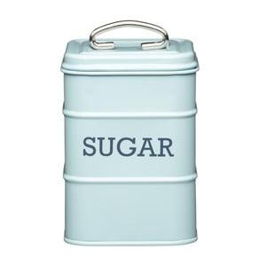 Modrá plechová dóza Kitchen Craft Sugar