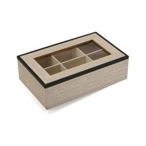 Drevený box na čaj Versa Erling