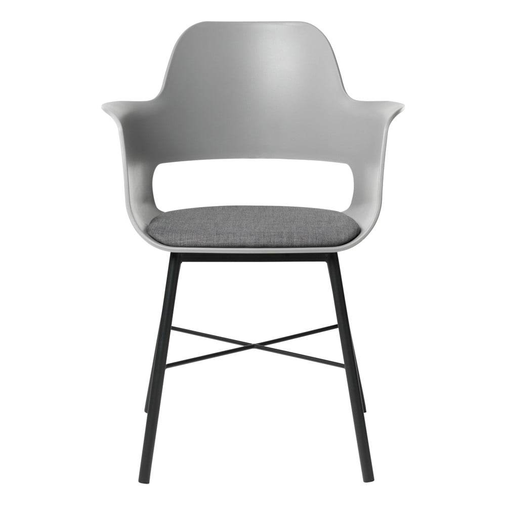 Sivá jedálenská stolička Unique Furniture Wrestler