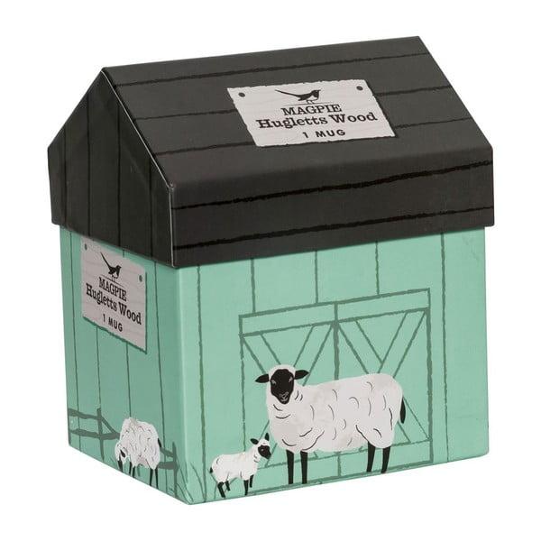 Hrnček Hugglets Wood Sheep, 440 ml