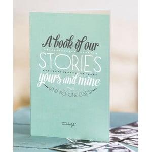 Spomienková kniha pre páry Mr. Wonderful A Book of Our Stories