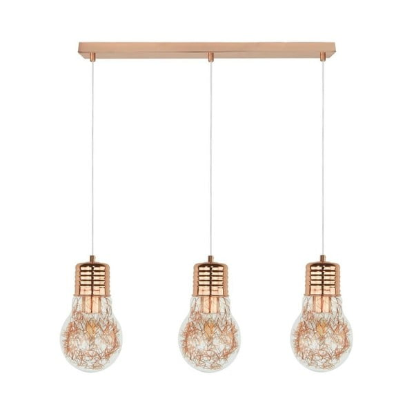 Stropné svietidlo Bulb Copper