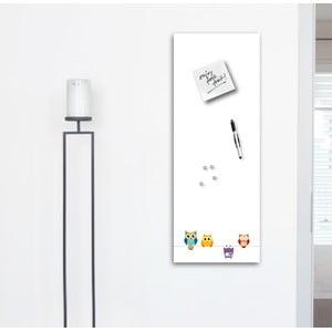 Magnetická tabuľa Eurographics Funny Owls, 30 x 80 cm