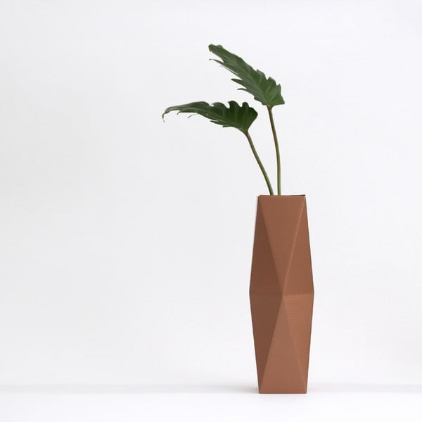 Skladacie origami váza SNUG.Copper