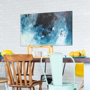 Obraz na plátne OrangeWallz Abstract Blue, 70 x 118 cm