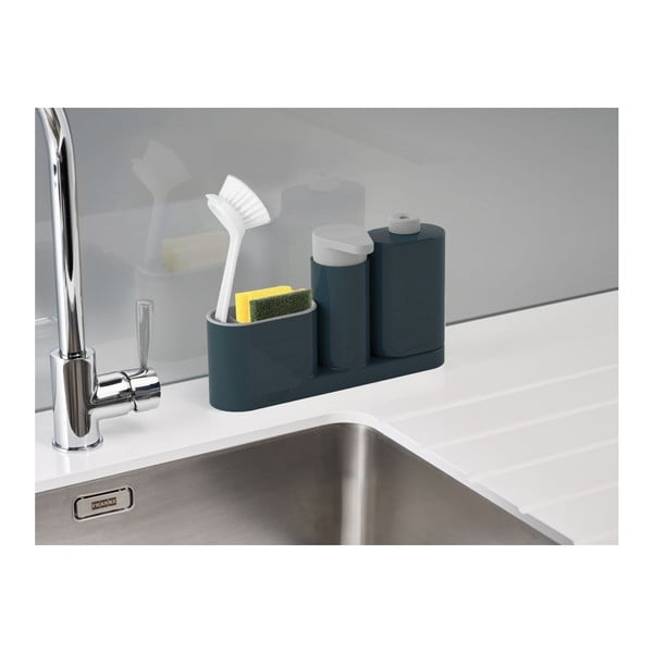 Sivý stojan na umývacie prostriedky Joseph Joseph SinkBase Plus