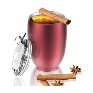 Termohrnček z nehrdzavejúcej ocele Imperial Beverage, červený