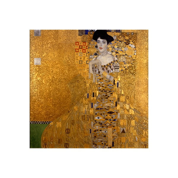 Reprodukcia obrazu Gustav Klimt - Bauer I, 60x60cm