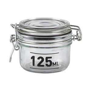 Sklenená dóza s vekom KJ Collection Jar, 125ml